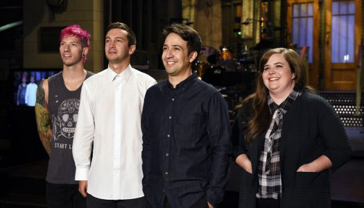"NBC Commercial Teases ""SNL"" With Host Lin-Manuel Miranda, Musical Guest Twenty One Pilots"