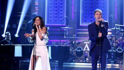 "Machine Gun Kelly & Camila Cabello Perform ""Bad Things"" On Jimmy Fallon's ""Tonight Show"" (Watch)"