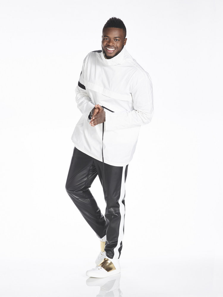 "A PENTATONIX CHRISTMAS SPECIAL -- Season: 1 -- Pictured: Kevin ""K.O."" Olusola -- (Photo by: Chris Haston/NBC)"