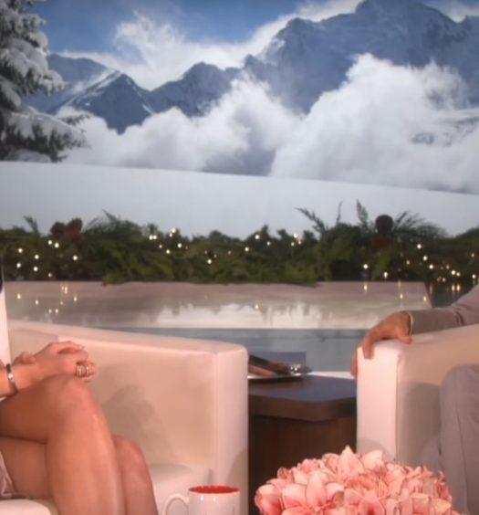 Kylie on Ellen [via Ellen Tube]