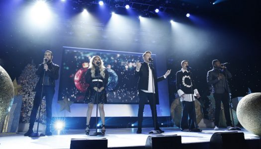 """A Pentatonix Christmas"" Wins Second Straight US Album Sales Race, Stays #1 On Billboard 200"