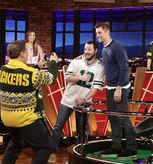 ANDY RICHTER, AARON RODGERS