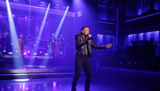 "John Legend Performs, Plays Charades With Chrissy Teigen On Fallon's ""Tonight Show"" (Watch)"