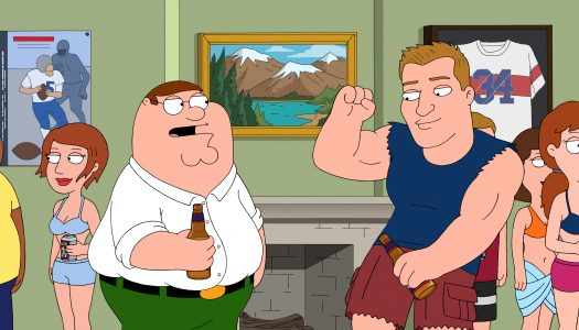 "First Look: Rob Gronkowski Guest Stars On January 15 ""Family Guy"""