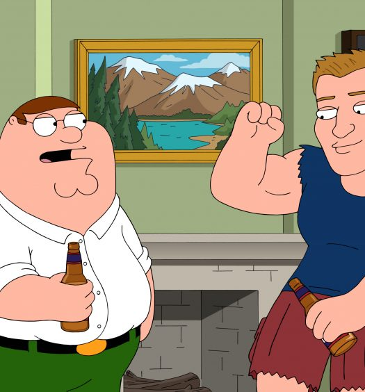 Gronk on Family Guy [FOX]