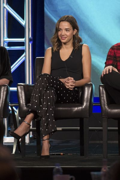"TCA WINTER PRESS TOUR 2017 – ""Famous in Love"" Session – The cast and executive producers of ""Famous in Love"" addressed the press at Disney 