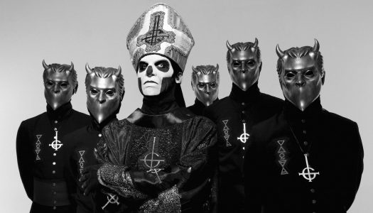 "Ghost's ""Square Hammer"" Reaches #1 At Active Rock Radio"