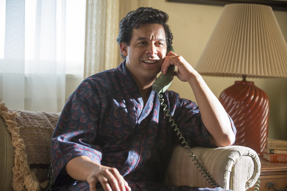 "THIS IS US -- ""The Big Day"" Episode 112 -- Pictured: John Huertas as Miguel -- (Photo by: Ron Batzdorff/NBC)"