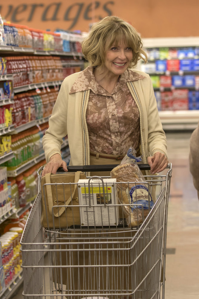 "THIS IS US -- ""The Big Day"" Episode 112 -- Pictured: Susan Blakely as Anne -- (Photo by: Ron Batzdorff/NBC)"