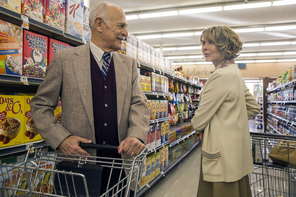 "THIS IS US -- ""The Big Day"" Episode 112 -- Pictured: (l-r) Gerald McRaney as Dr. K, Susan Blakely as Anne -- (Photo by: Ron Batzdorff/NBC)"