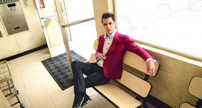 Brendon Urie/Panic! At The Disco [Shervin Lainez | Press photo via BB Gun]