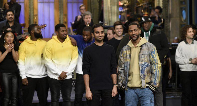 Aziz Ansari Big Sean [NBC]