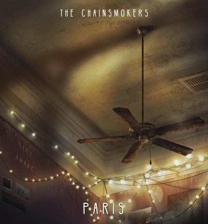 The Chainsmokers Paris Cover [Disruptor/Columbia]