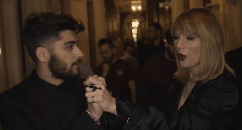 ZAYN & Taylor Swift [IDWLF BTS | Univeral/Vevo]