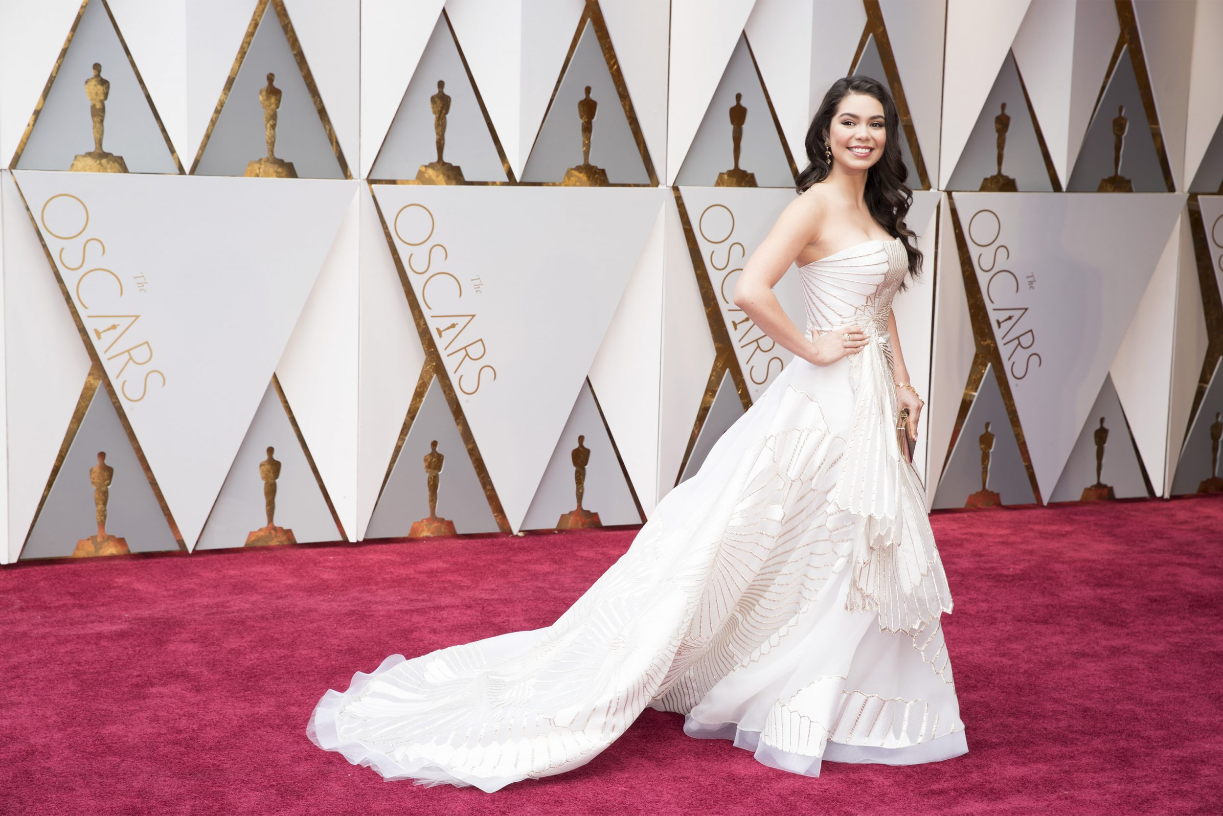 THE OSCARS(r) - The 89th Oscars(r)  broadcasts live on Oscar(r) SUNDAY, FEBRUARY 26, 2017, on the ABC Television Network. (ABC/Tyler Golden) AULI'I CRAVALHO