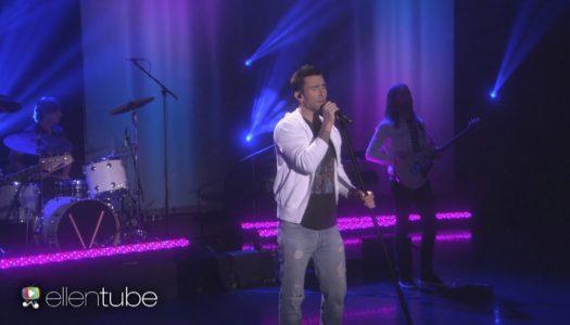 "Maroon 5 Performs New Single ""Cold"" On ""Ellen DeGeneres Show"" (Watch Now)"