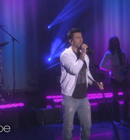 Maroon 5 on Ellen [EllenTube]