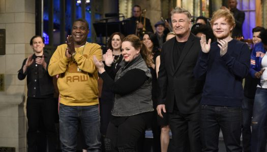 "Live+7 Ratings: Alec Baldwin, Ed Sheeran ""SNL"" Episode Was Most-Watched Since 2008"