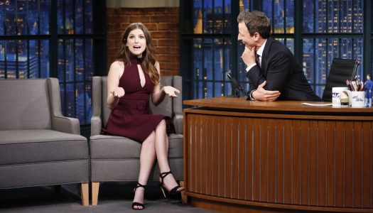 "Anna Kendrick Scheduled For February 20 ""Late Night With Seth Meyers"""