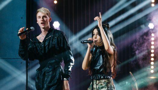 """Machine Gun Kelly x Camila Cabello's """"Bad Things"""" Reaches #1 At Pop Radio"""