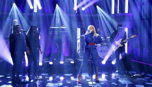 """Bebe Rexha Performs """"I Got You"""" On """"Late Night With Seth Meyers"""" (Watch Now)"""