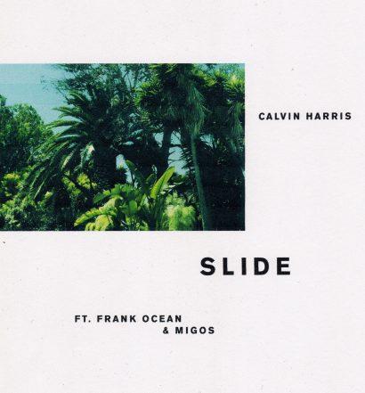 Calvin Harris - Slide Cover [Columbia]