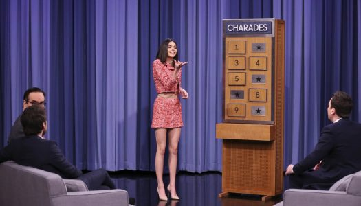 "Kendall Jenner Appears, Plays Charades On Jimmy Fallon's ""Tonight Show"" (Watch Now)"
