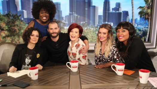 "Jamie Dornan Makes Surprise Appearance On ""The Talk"" (Watch Now)"