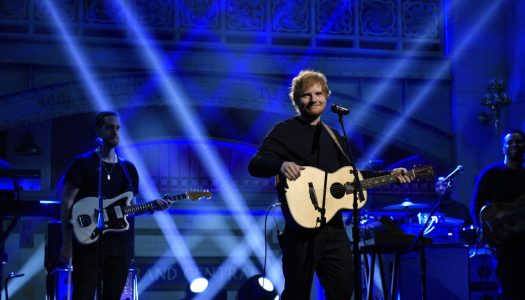 "Ed Sheeran's ""Shape Of You"" Remains #1 In UK, Rag'n'Bone Man #2, Katy Perry #7"