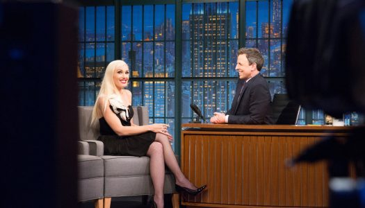 """Gwen Stefani Appears, Tove Lo Performs On """"Late Night With Seth Meyers"""" (Watch Now)"""