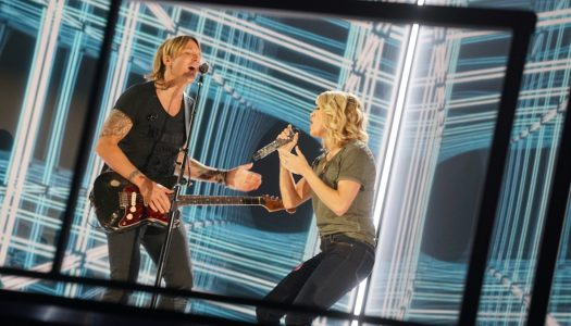 Special Look: Keith Urban, Carrie Underwood Rehearse Their Grammys Performance
