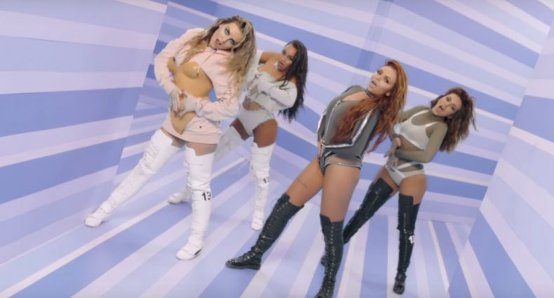 Little Mix in Touch [Columbia Records]