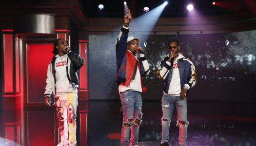 "Migos' ""Bad And Boujee"" Remains #1 At Urban Radio; Chris Brown, Future Top 5"