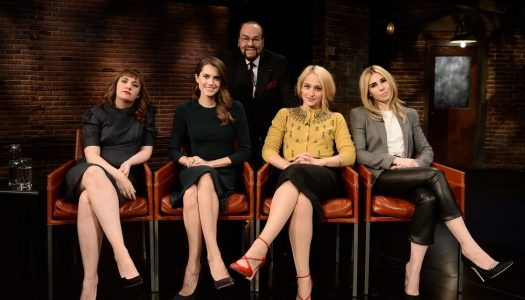 "First Look: ""Girls"" Stars Appear On February 9 ""Inside The Actors Studio"""