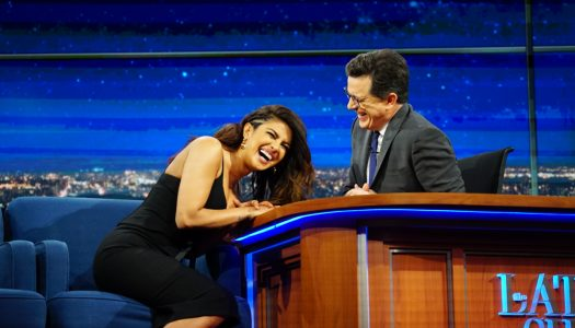 "First Look: Priyanka Chopra Appears On ""Late Show With Stephen Colbert"""