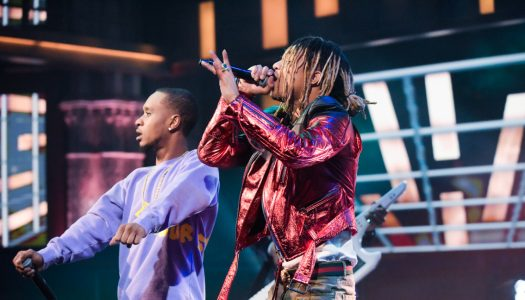 "First Look: Rae Sremmurd Performs On ""Late Show With Stephen Colbert"""