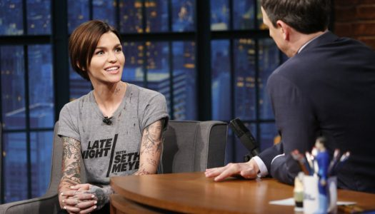 "Ruby Rose Appears On ""Late Night With Seth Meyers"" (Watch Now)"