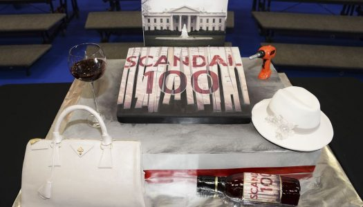 """Special Look: """"Scandal"""" Cast & Producers Celebrate Filming Of 100th Episode"""