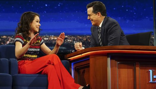 "Tatiana Maslany Appears On ""Late Show With Stephen Colbert"" (Watch Now)"