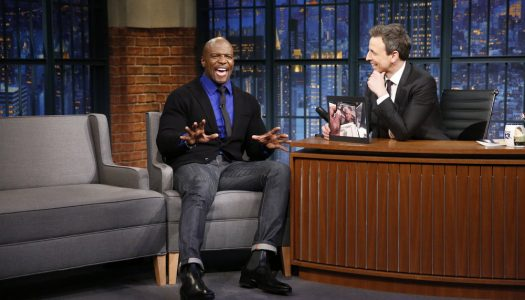 "Terry Crews, Leighton Meester Appear On ""Late Night With Seth Meyers"" (Watch Now)"
