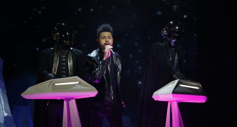 The Weeknd Daft Punk [CBS]