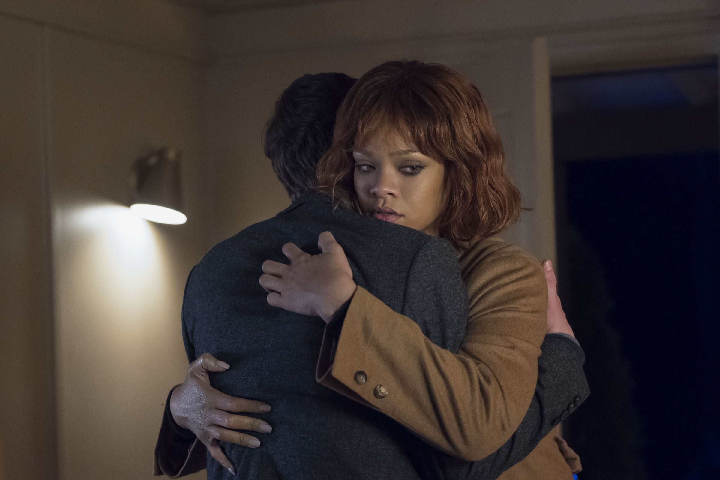 """Rihanna stars as Marion Crane in A&E's """"Bates Motel"""" Photo by Cate Cameron Copyright 2017"""