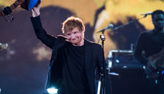 "Ed Sheeran's ""Shape Of You"" Enjoys 5th Week As Hot AC Radio's #1 Song"