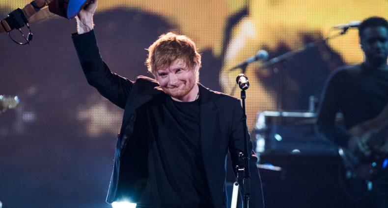 Ed Sheeran at the iHeart Awards [Brian Friedman/iHeartRadio]