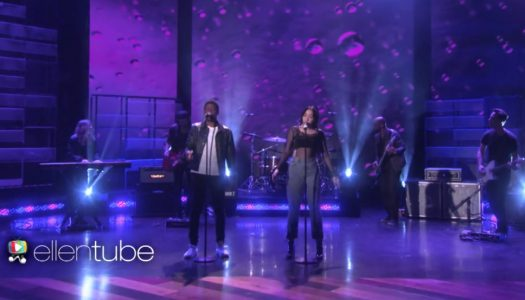 "Noah Cyrus & Labrinth Perform ""Make Me (Cry)"" On ""The Ellen DeGeneres Show"""