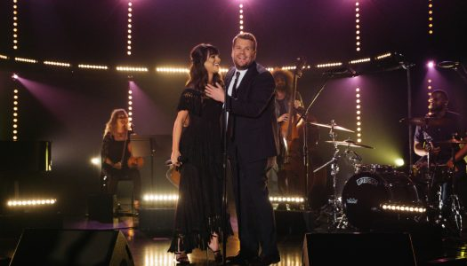 """Lea Michele Performs """"Love Is Alive"""" On """"The Late Late Show With James Corden"""" (Watch Now)"""