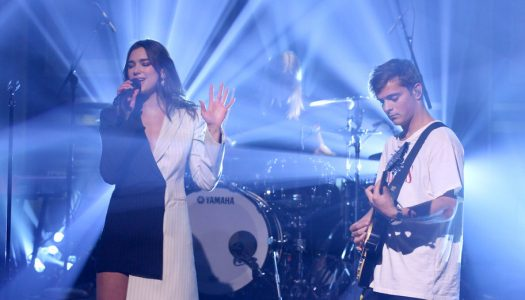 "Martin Garrix & Dua Lipa Perform On ""The Tonight Show Starring Jimmy Fallon"" (Watch)"