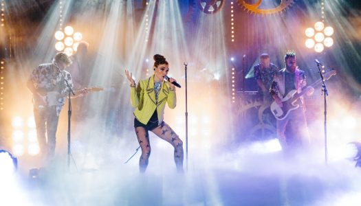 "1st Look: MisterWives Perform On Monday's ""Late Late Show With James Corden"""