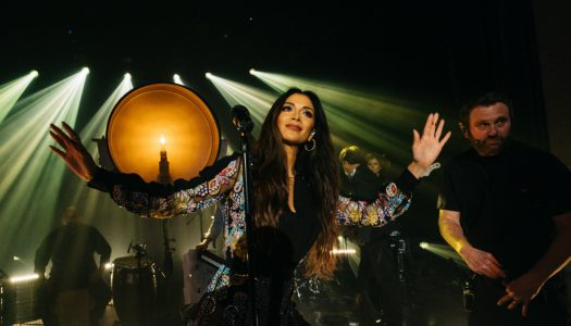 """Nicole Scherzinger Performs """"Never Give Up"""" On James Corden's """"Late Late Show"""" (Watch)"""