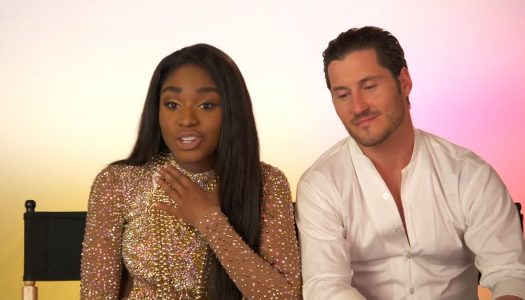 "Normani Kordei, Val Chmerkovskiy Discuss ""Dancing With The Stars"" Ahead Of Premiere"